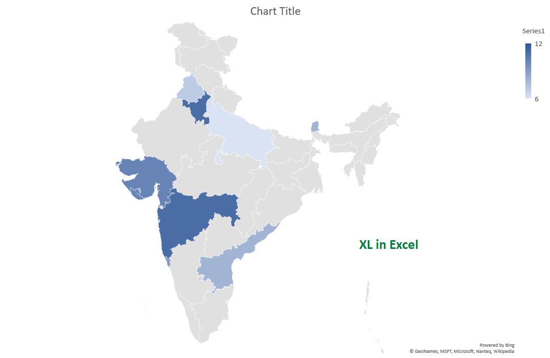 Create a Map Chart