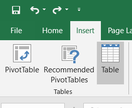 Excel Table - How to Create and Manage in Microsoft Excel