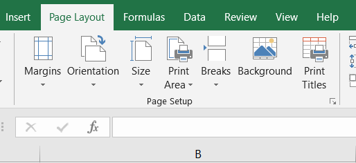 How to set page margins before printing a worksheet of Microsoft Excel